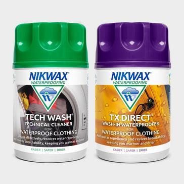 Multi Nikwax Tech Wash/TX Direct (Twin Pack)