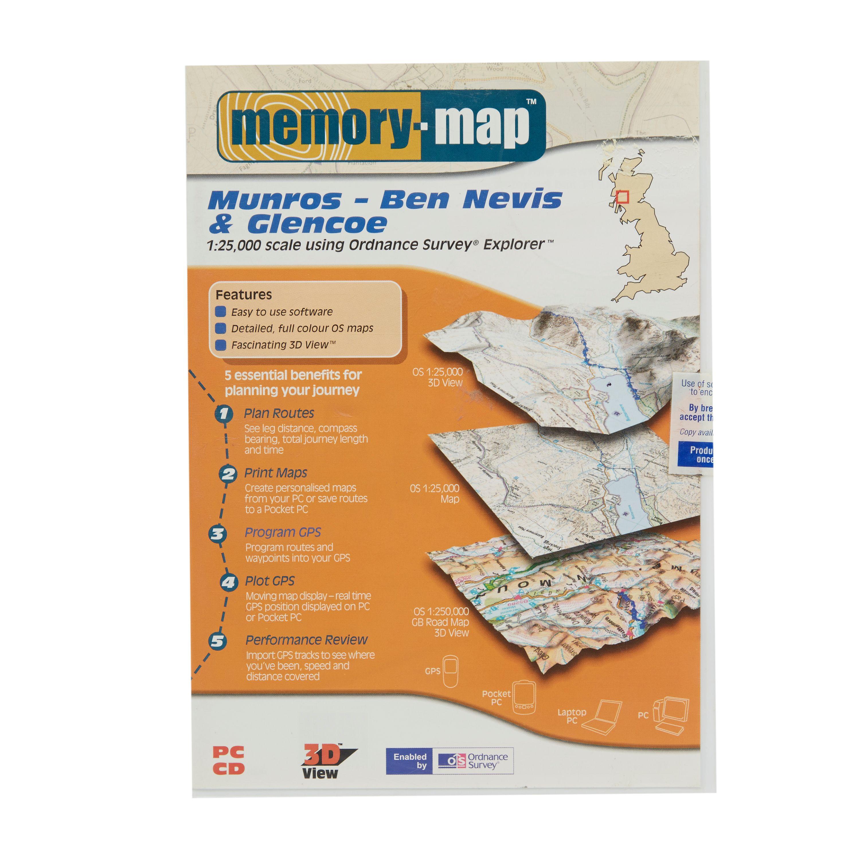 MEMORY MAP Explorer Ben Nevis & Glencoe