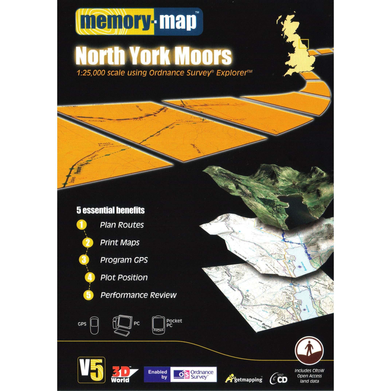 MEMORY MAP Explorer North Yorkshire CD ROM
