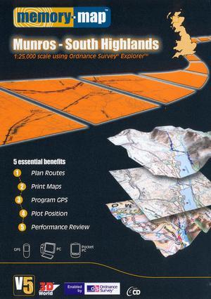 MEMORY MAP Explorer Munros - Loch Rannoch & Loch Lomond CD ROM