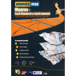 Explorer Loch Rannoch and Loch Lomond CD ROM
