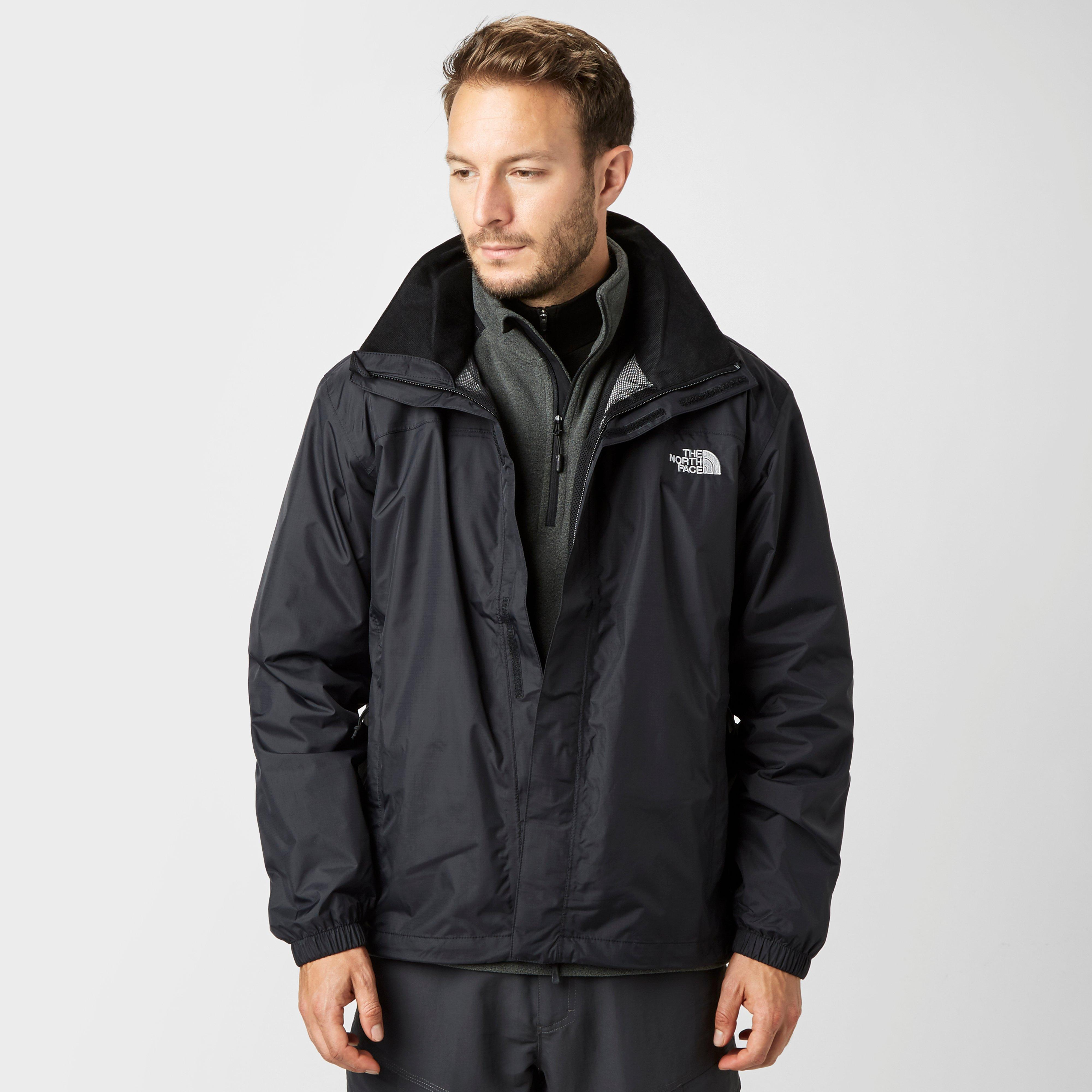 a7a95a725034 ... clearance the north face mens resolve hyvent jacket black black 100.00  bear gyrlls 18ed1 7bc14