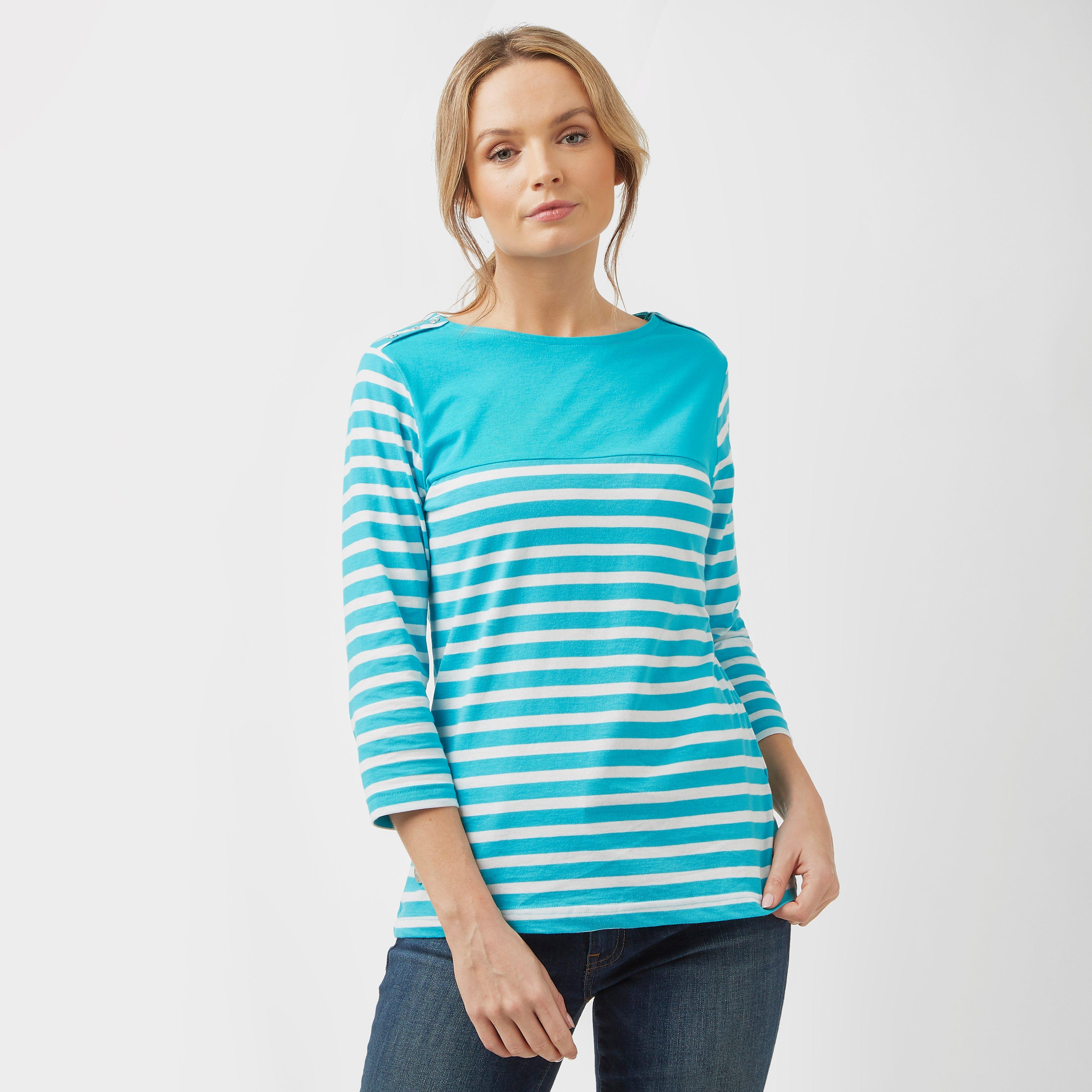 Regatta Regatta Womens Pandara Striped T- Shirt - Blue, Blue