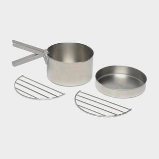 Stainless Steel Cook Set for Base Camp or Scout Kettles