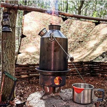 Silver Kelly Kettle Pot-Support® (fits all Kelly Kettles)