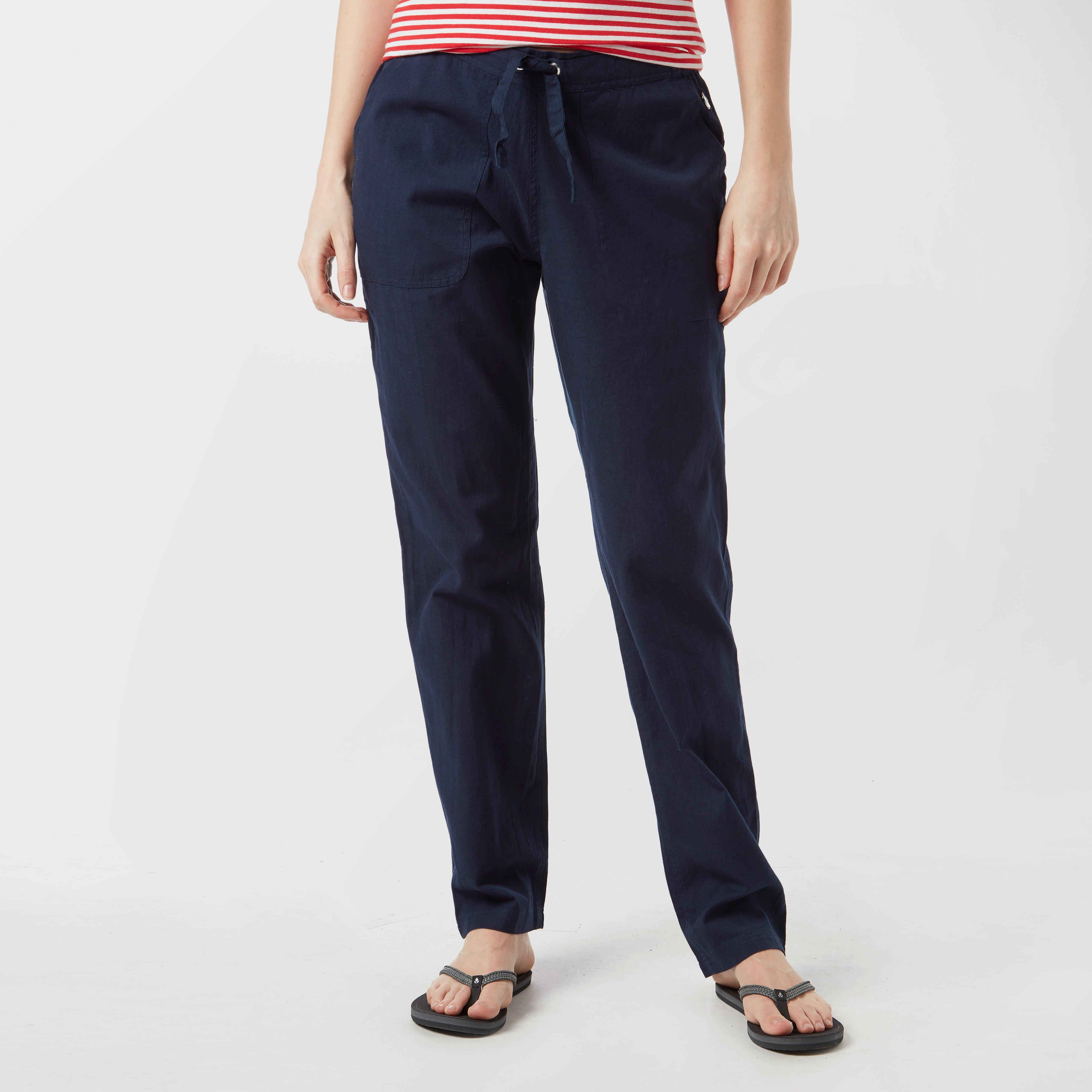 Regatta Regatta Womens Quanda Drawstring Trousers - Navy, Navy