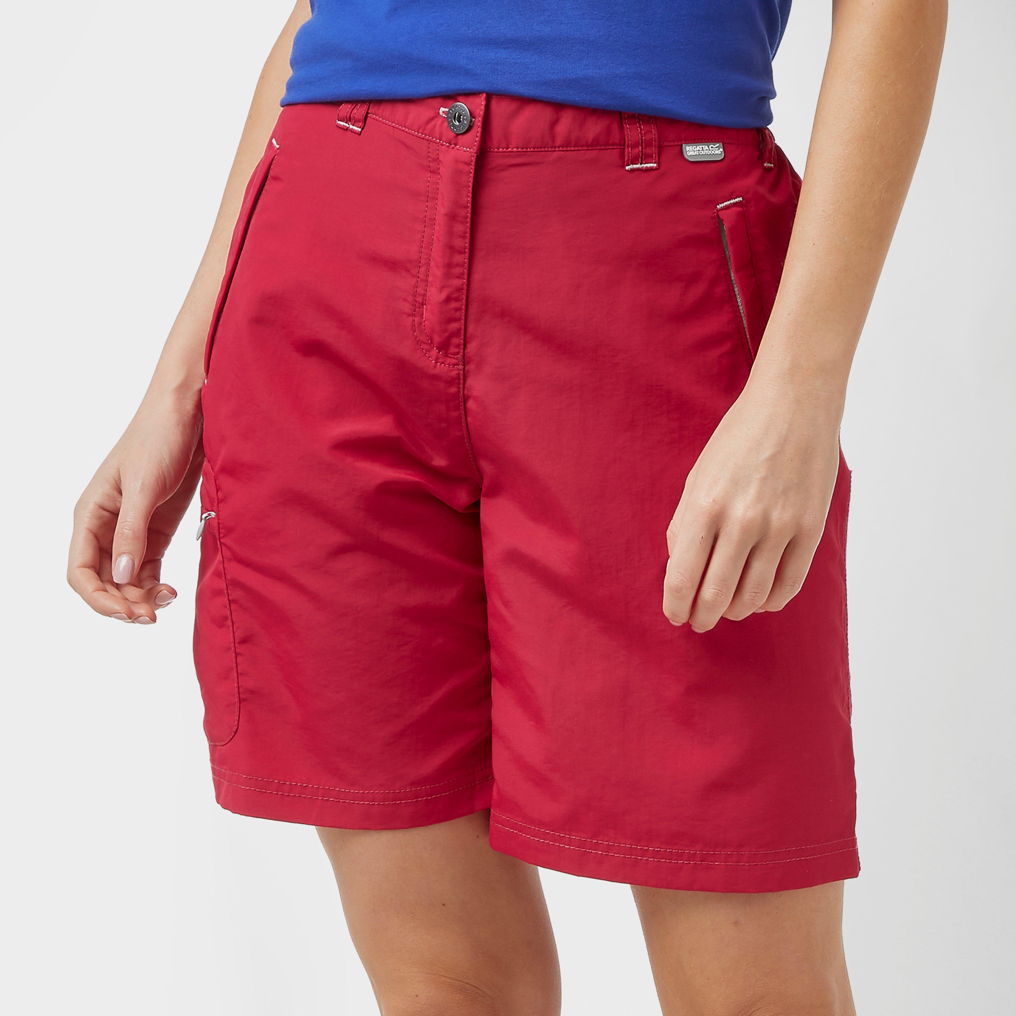 Regatta Regatta Womens Chaska Shorts - Pink, Pink
