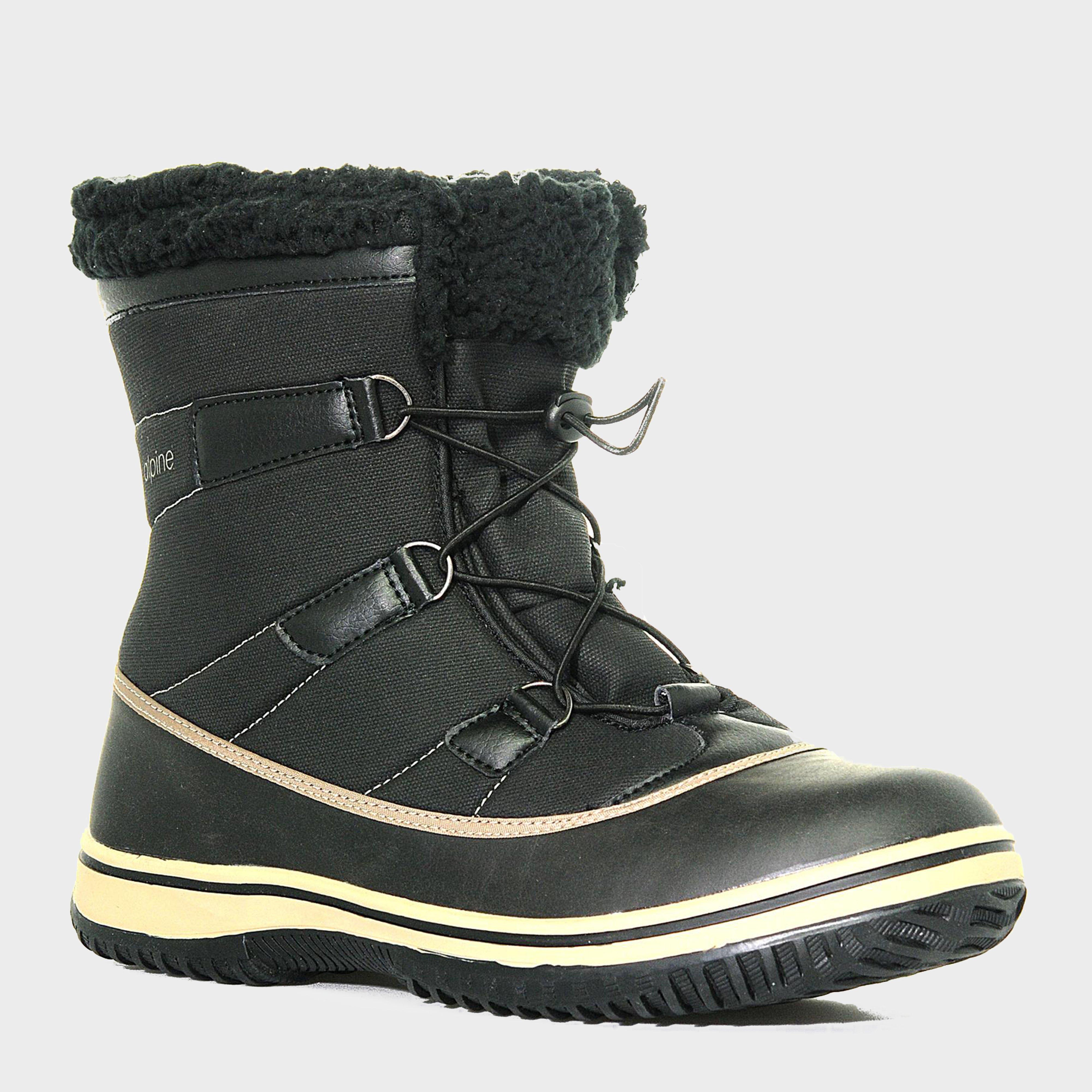 Alpine Men's Snow Boot, Black   Bear Grylls UK   £20.00