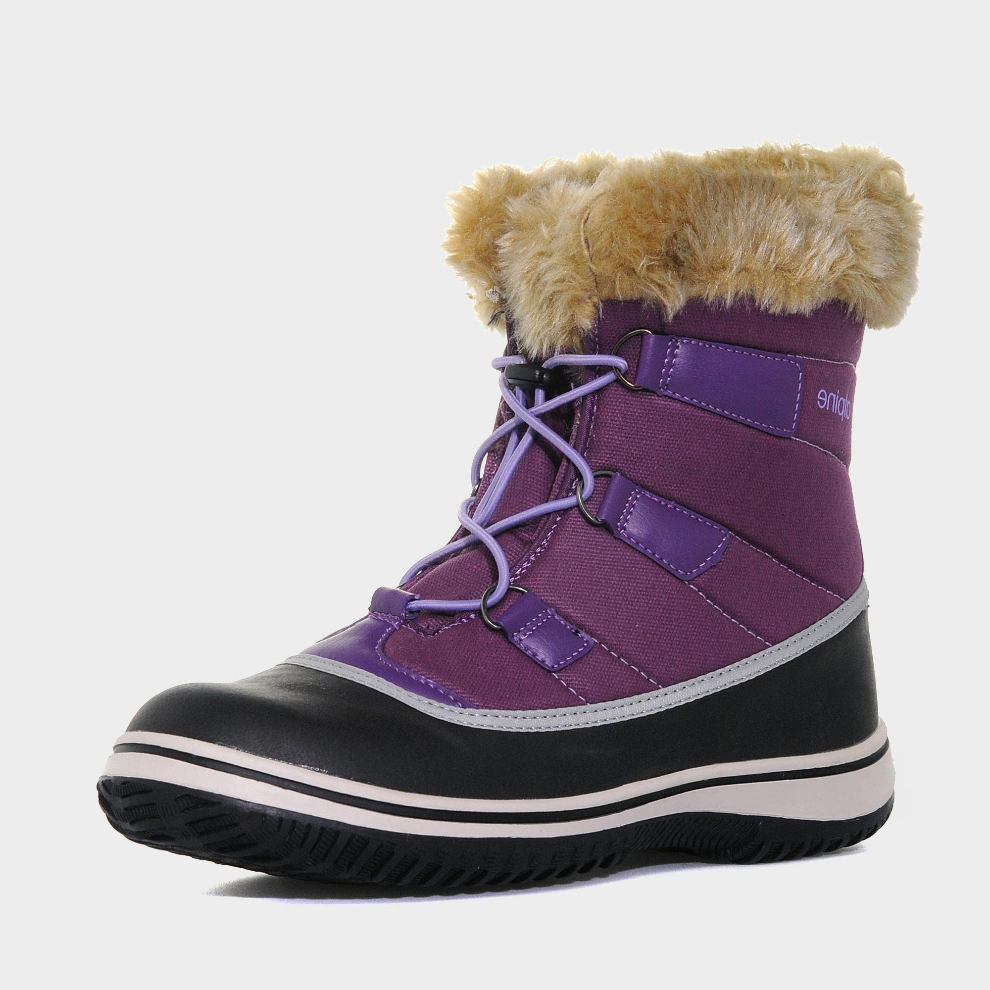 Alpine Alpine Womens Snow Boot - Purple, Purple