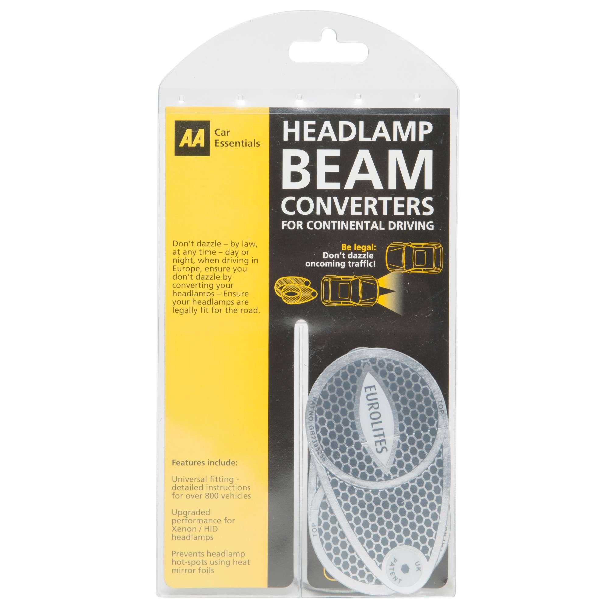 AA Headlamp Beam Converters