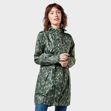 Camouflage Peter Storm Women's Parka in a Pack