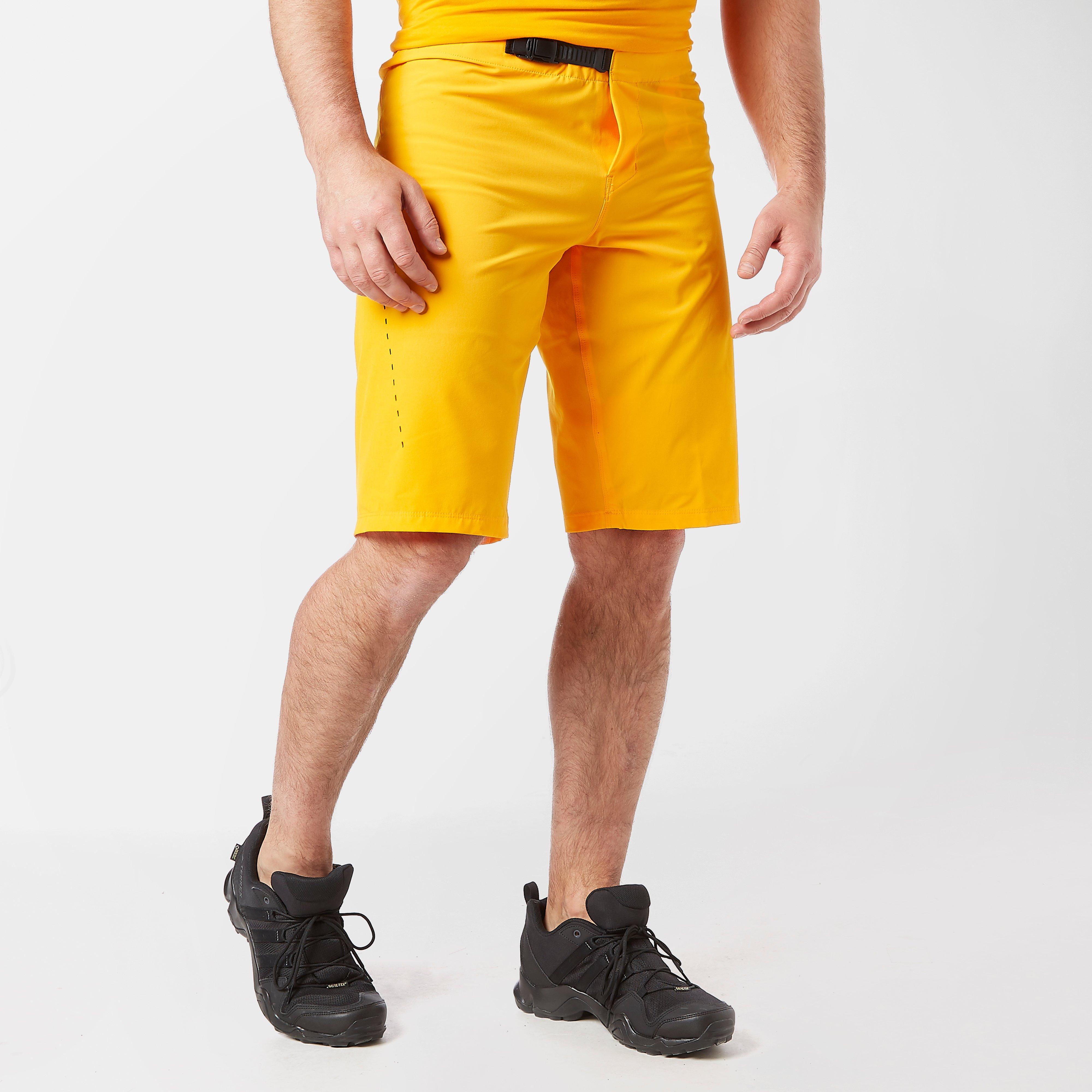 FOX Fox Mens Flexair Lite Mountain Bike Shorts - Orange, Orange