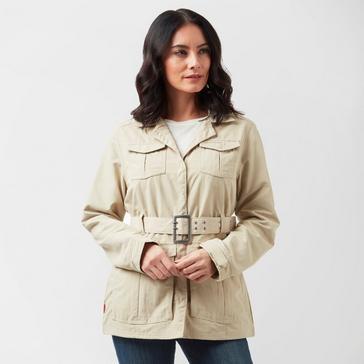 Beige Craghoppers Women's NosiLife Lucca Jacket