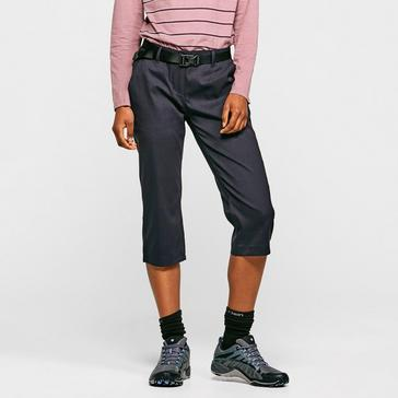 Navy Craghoppers Women's Kiwi Pro III Crop Trousers