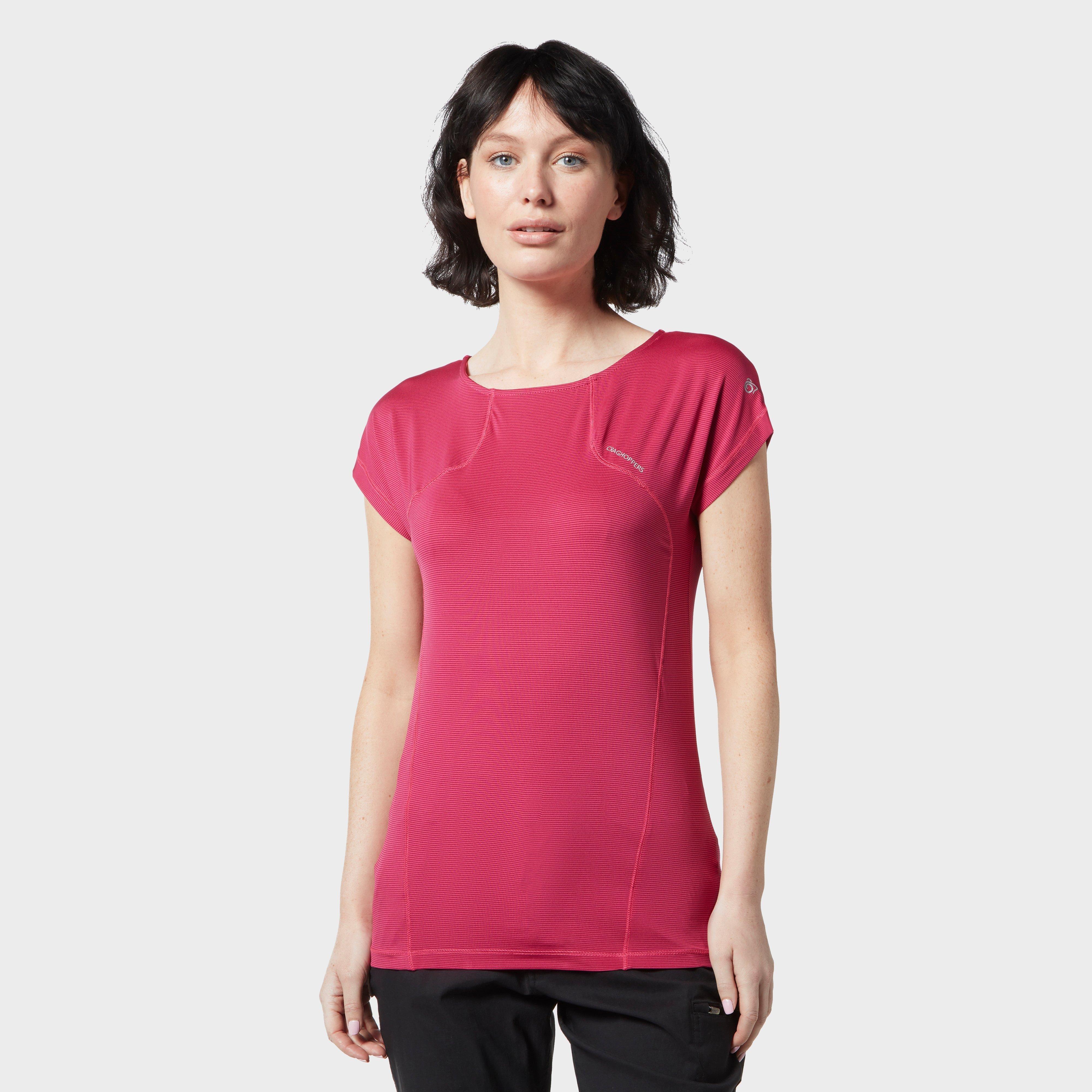 Image of Craghoppers Women's Fusion T-Shirt - Pink/Pnk, Pink/PNK