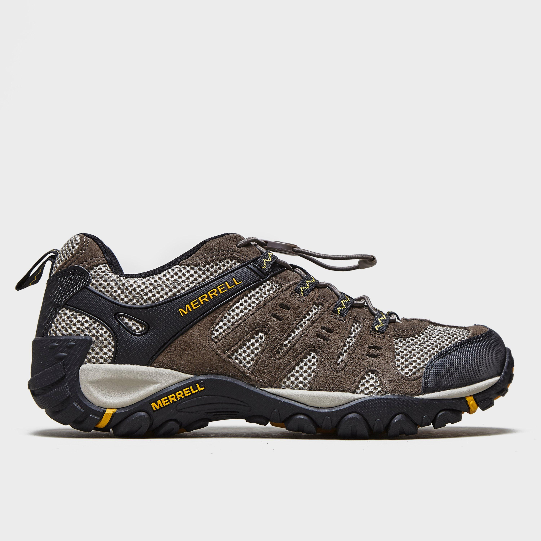 Mens Walking comfortable walking hiking boot - UK 10 / EU 44, Khaki