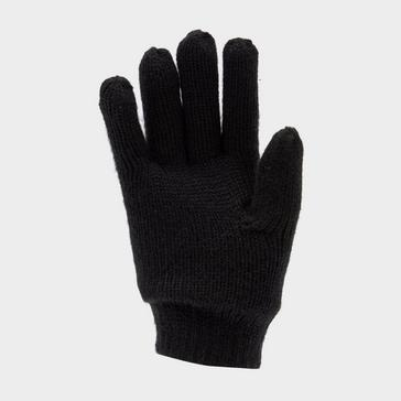 Black Peter Storm Boys' Thinsulate Knit Gloves