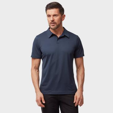 Navy The North Face Men's Tanken Polo Shirt