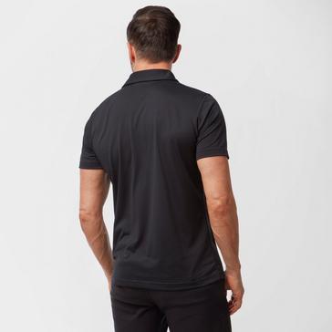 Black The North Face Men's Tanken Polo Shirt