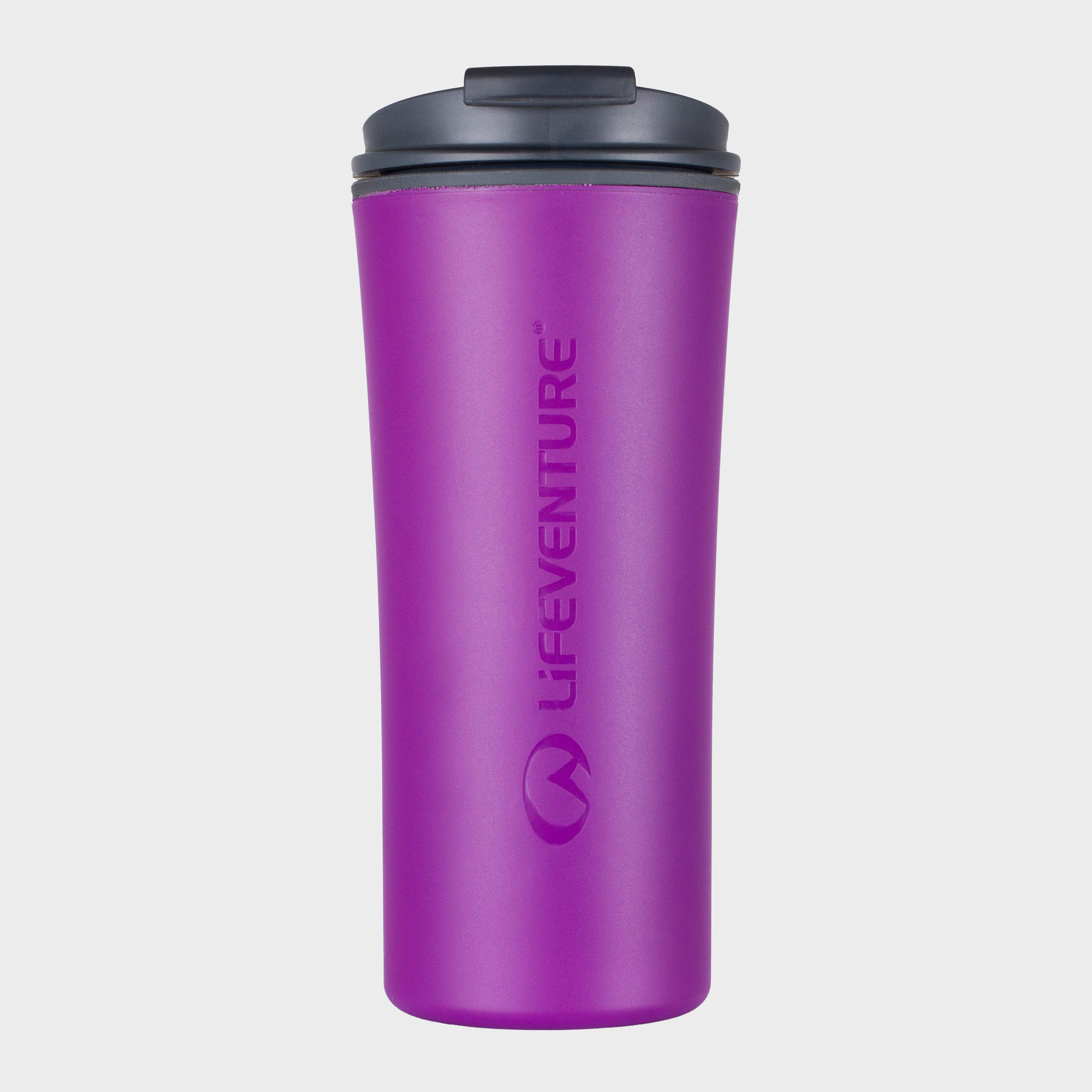 Lifeventure Lifeventure Elipse Travel Mug - Purple, Purple