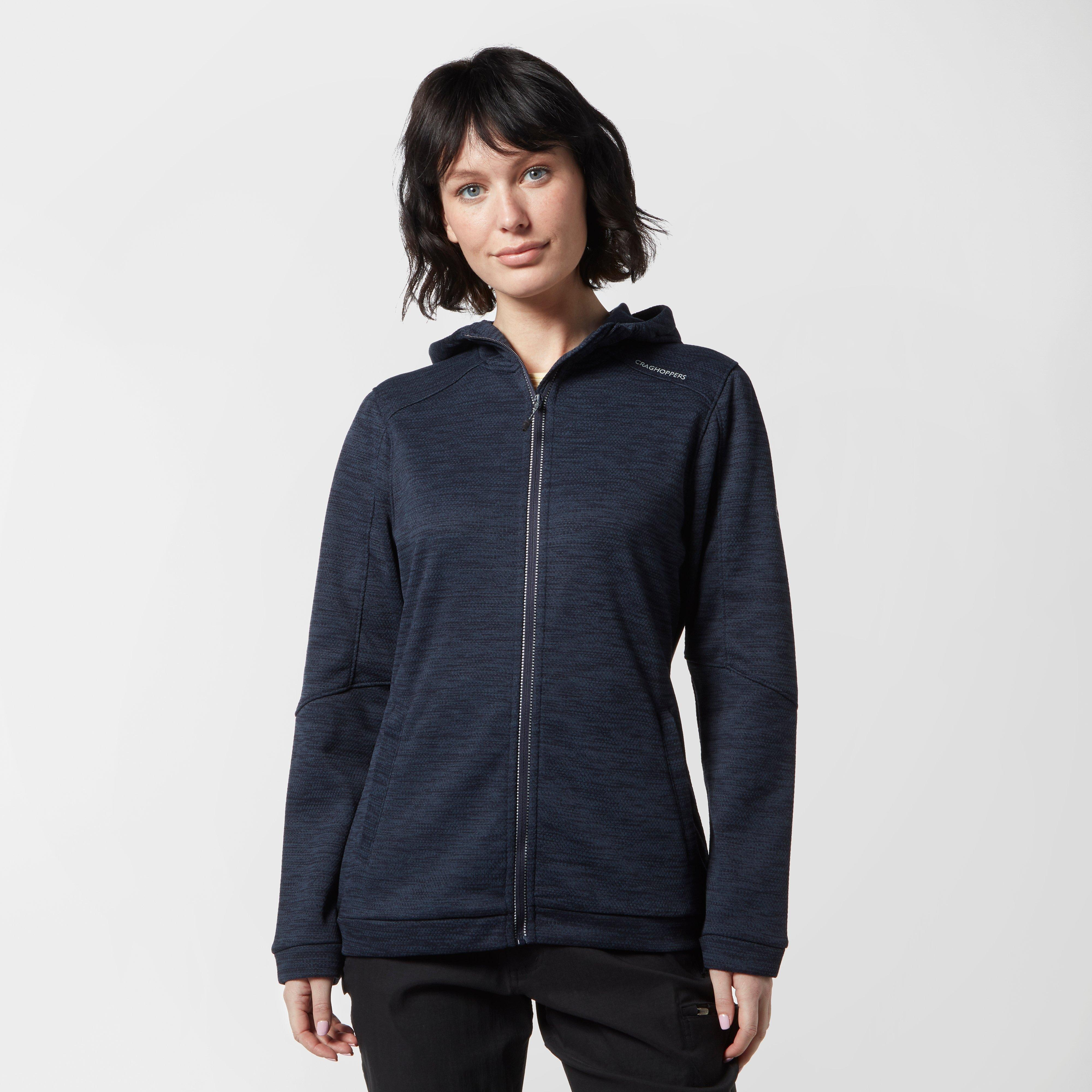 Craghoppers Craghoppers womens Strata Hooded Jacket - Navy, Navy