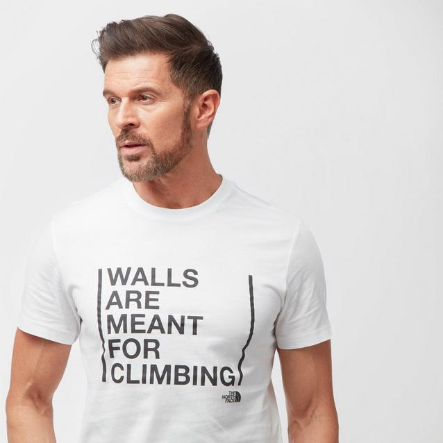 1570fa947 Men's Walls Are For Climbing T-Shirt