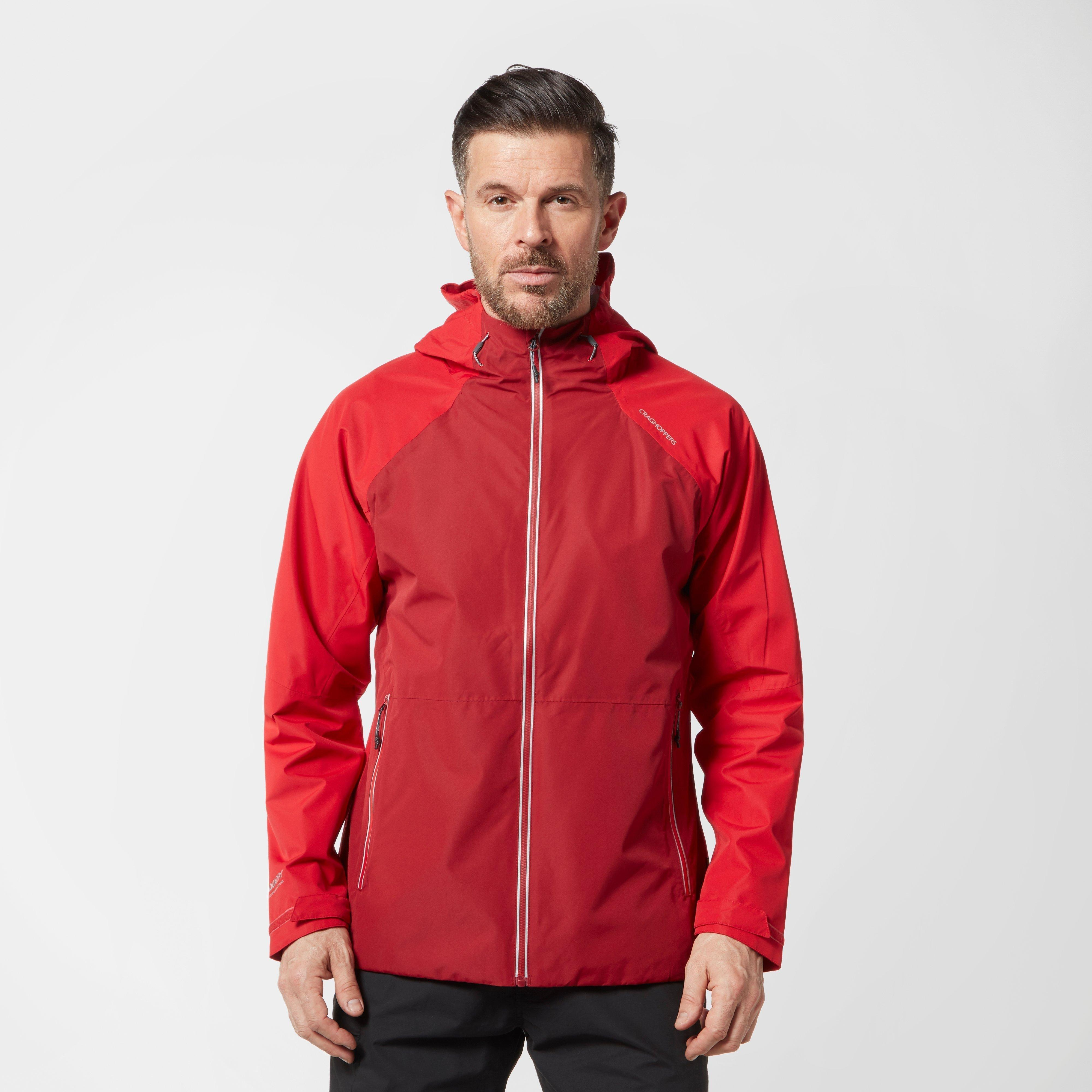 Craghoppers Men's Horizon Jacket - Red, Red