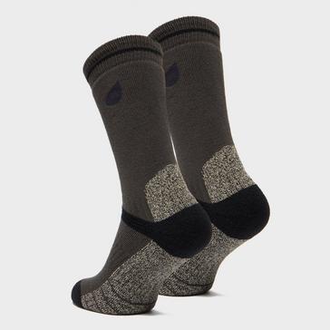 Grey|Grey Peter Storm Heavyweight Outdoor Socks - Twin Pack