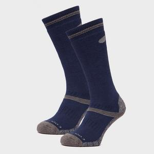 PETER STORM Midweight Knee Length Socks - 2 Pack