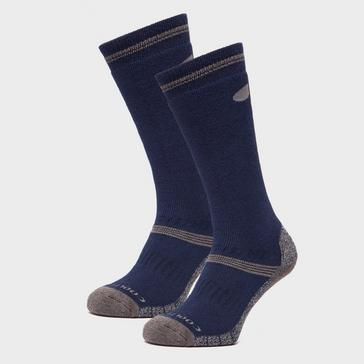 Blue Peter Storm Men's Midweight Knee Length Hiking Socks - Twin Pack