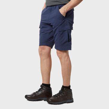 Navy Brasher Men's Travel Shorts