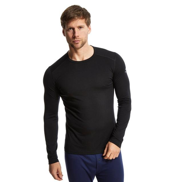 95908e674ab8 Black ICEBREAKER Men's Oasis Long Sleeve Crew image 5