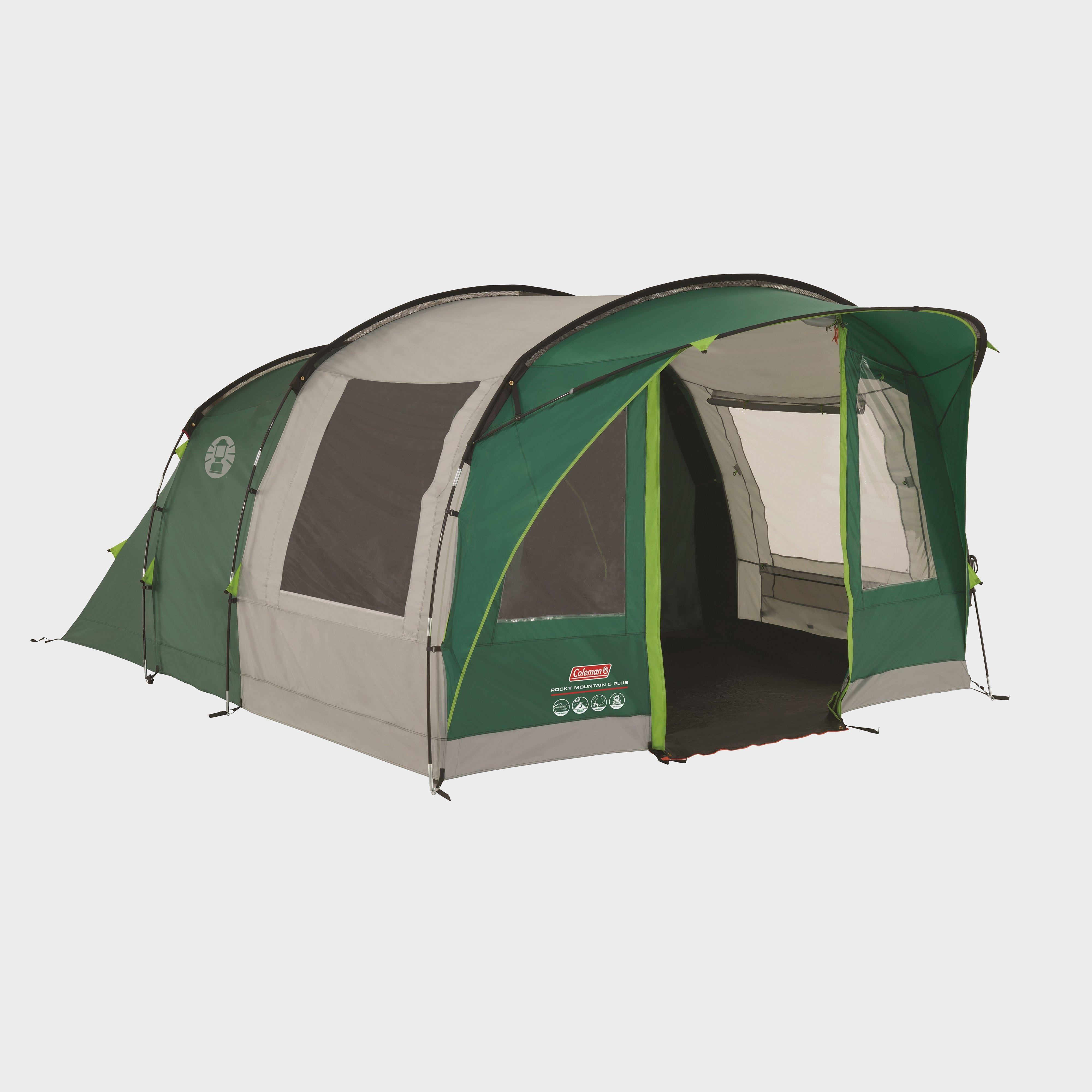 Coleman Coleman Rocky Mountain 5 Plus Tent - Green, Green