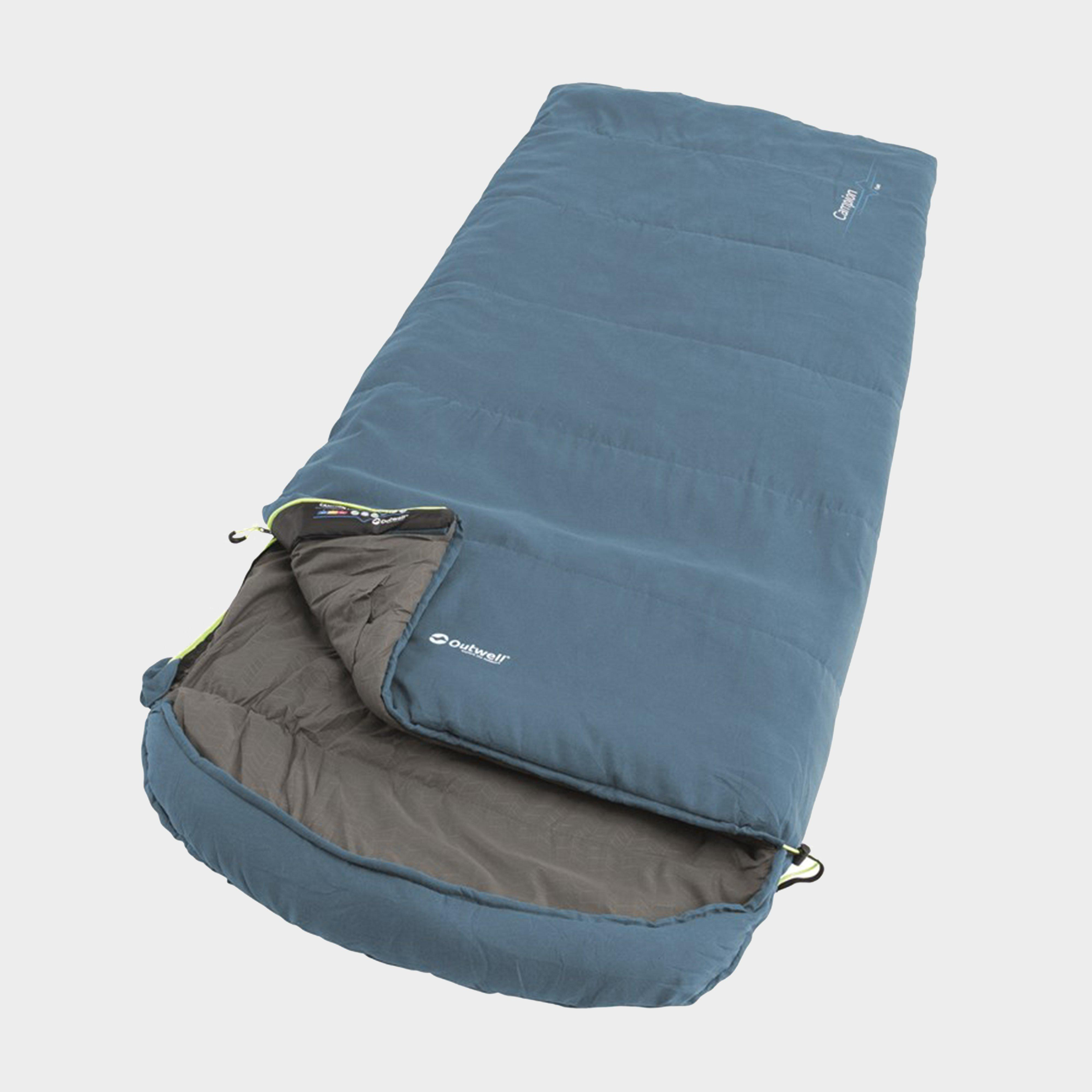 Outwell Outwell Campion Lux Single Sleeping Bag - Blue, Blue