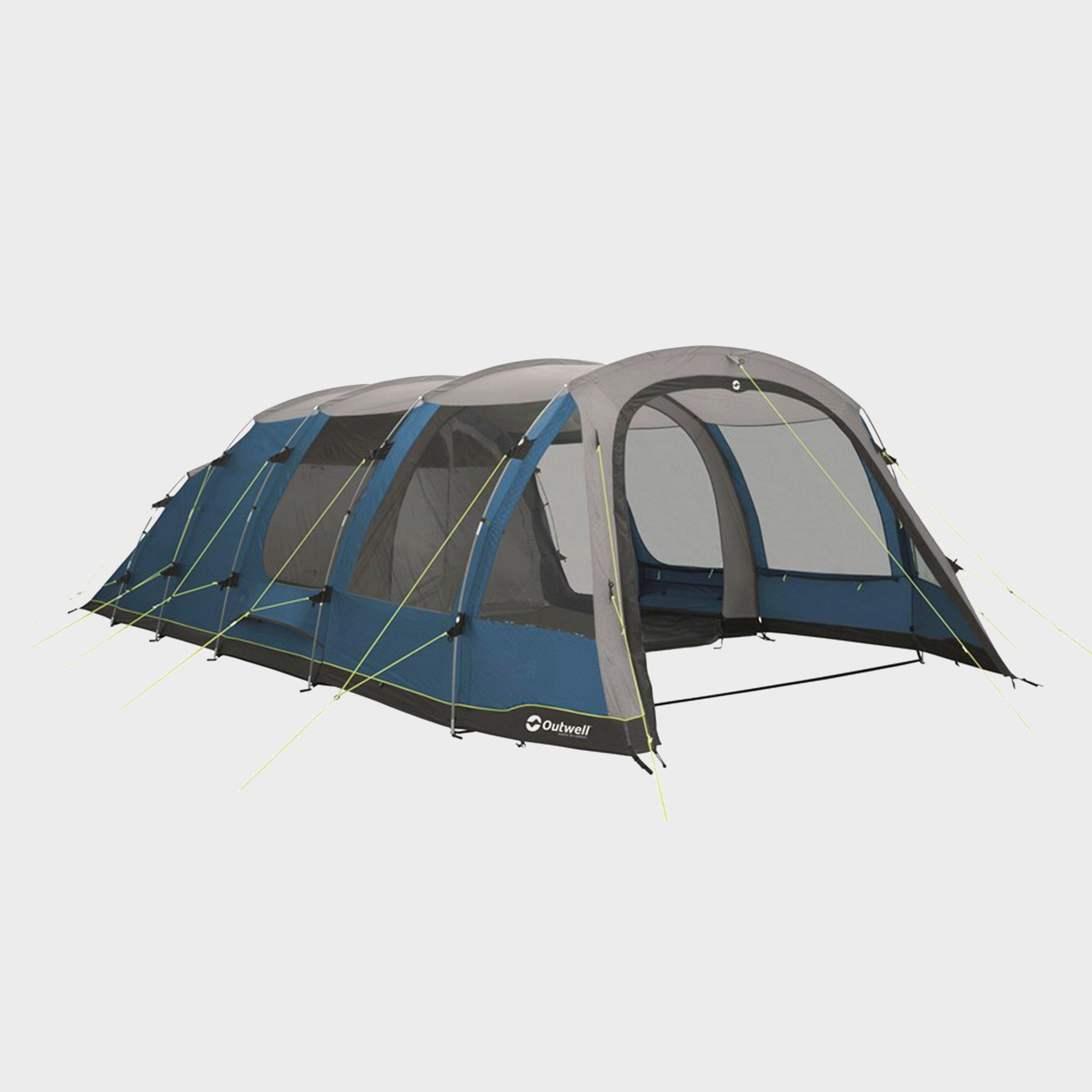 Outwell Harwood 6 Tent, Blue