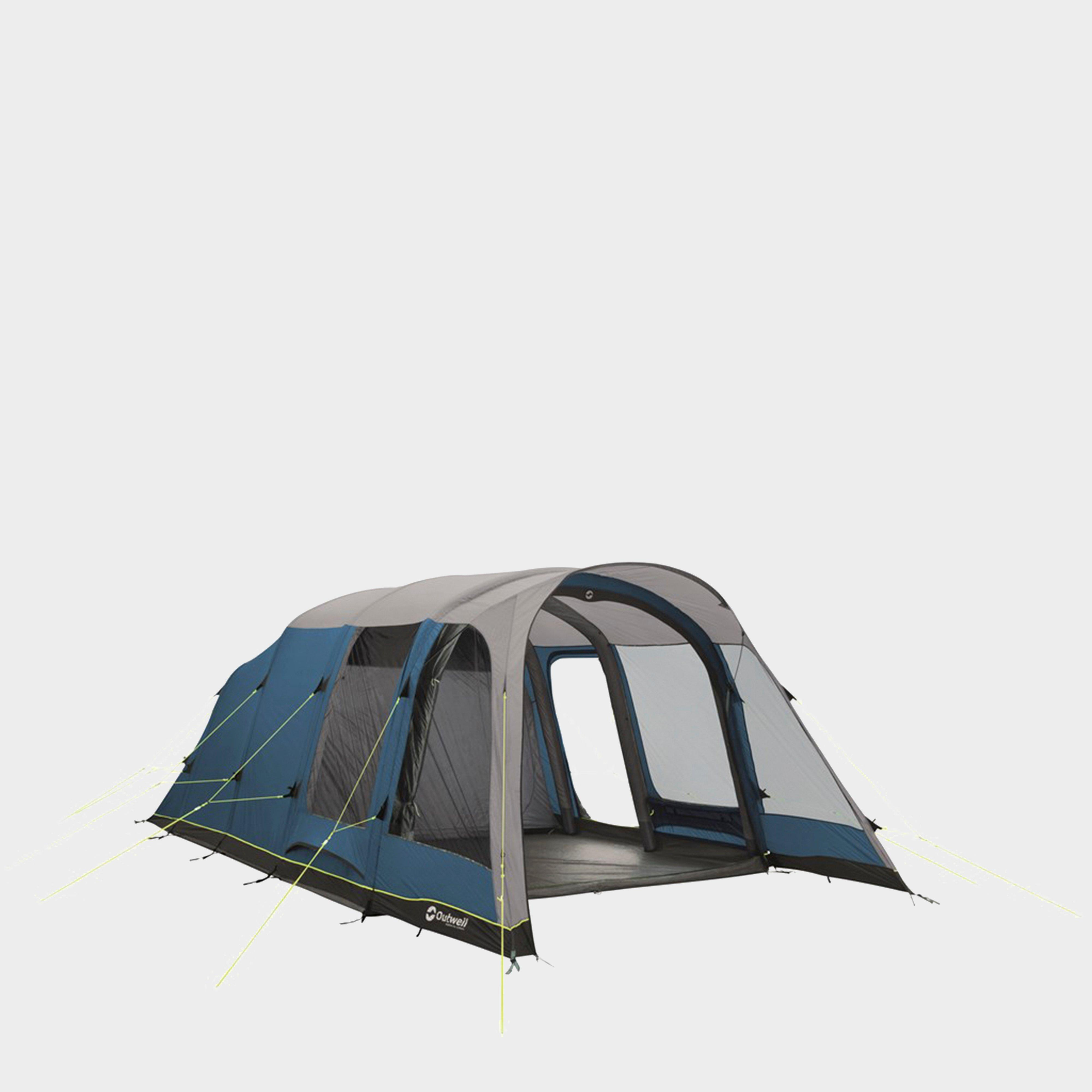 Outwell Outwell Mountville 5A Inflatable Family Tent - Blue, Blue