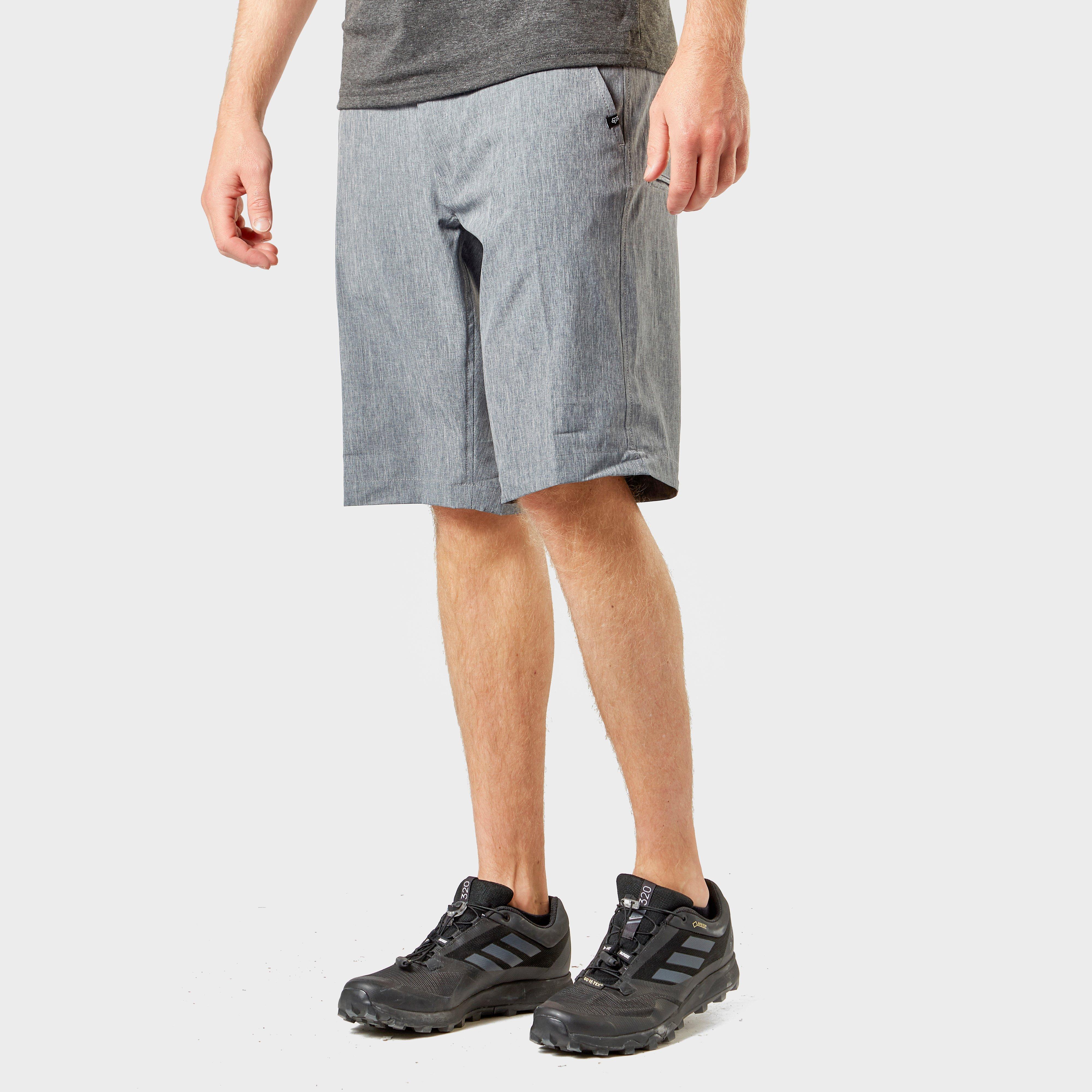 FOX Fox Mens Essex Tech Shorts - Grey, Grey