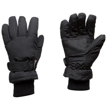 bf624ca178b4a Black PETER STORM Kids' Microfibre Waterproof Gloves ...