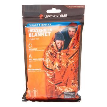 Orange Lifesystems Heatshield Thermal Blanket Double