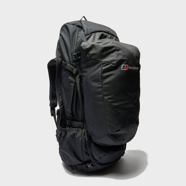 4472f1076a7 Black BERGHAUS Motive Travel 60 + 20 Litre Rucksack ...