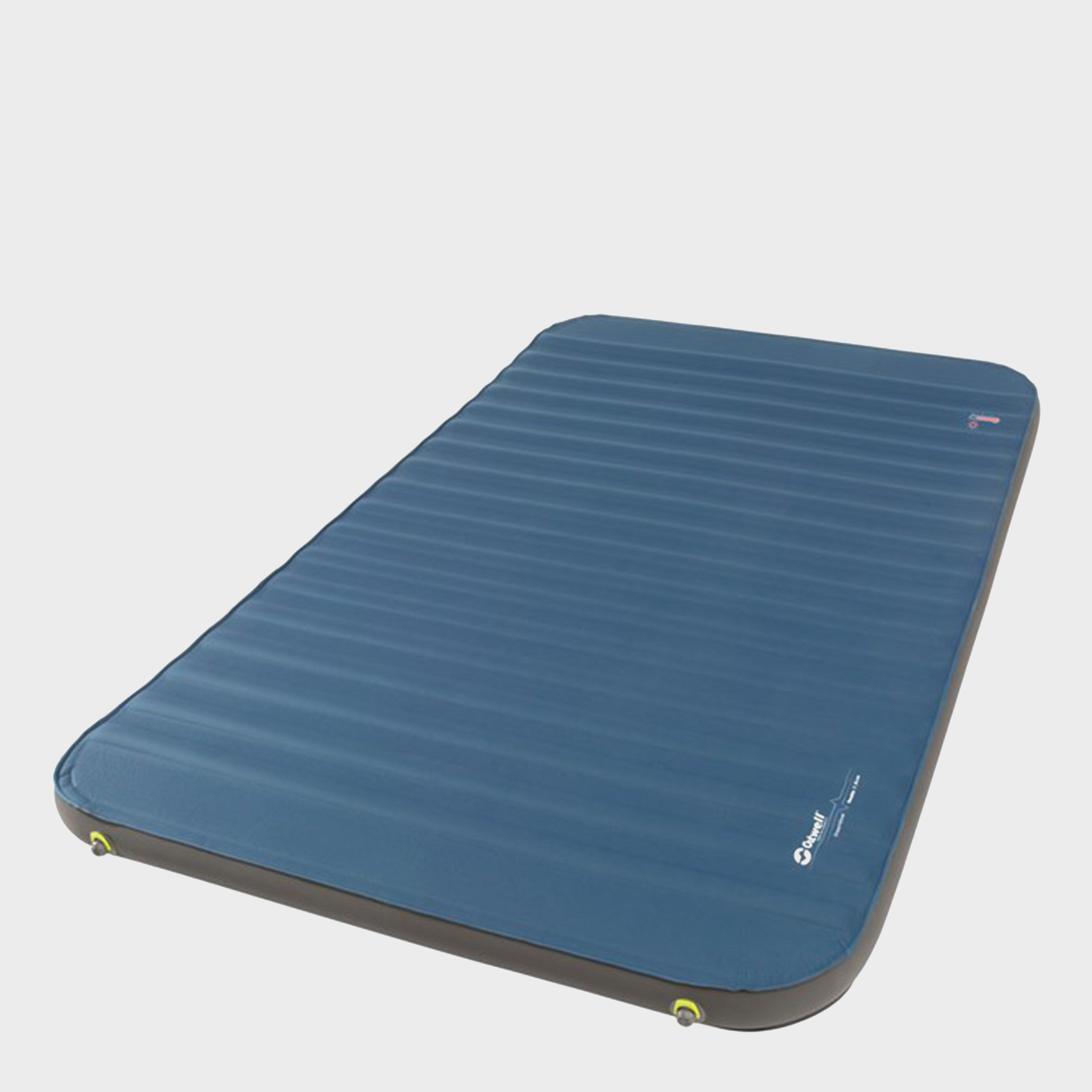 Outwell Dreamboat Double 7.5 Self-Inflating Mat, Blue