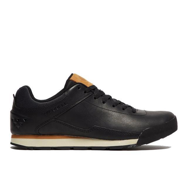 93a5665c21 Men's Burnt Rocked Leather Shoes