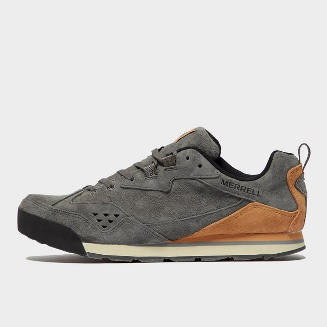 Mens Burnt Rock Tura Suede Shoe