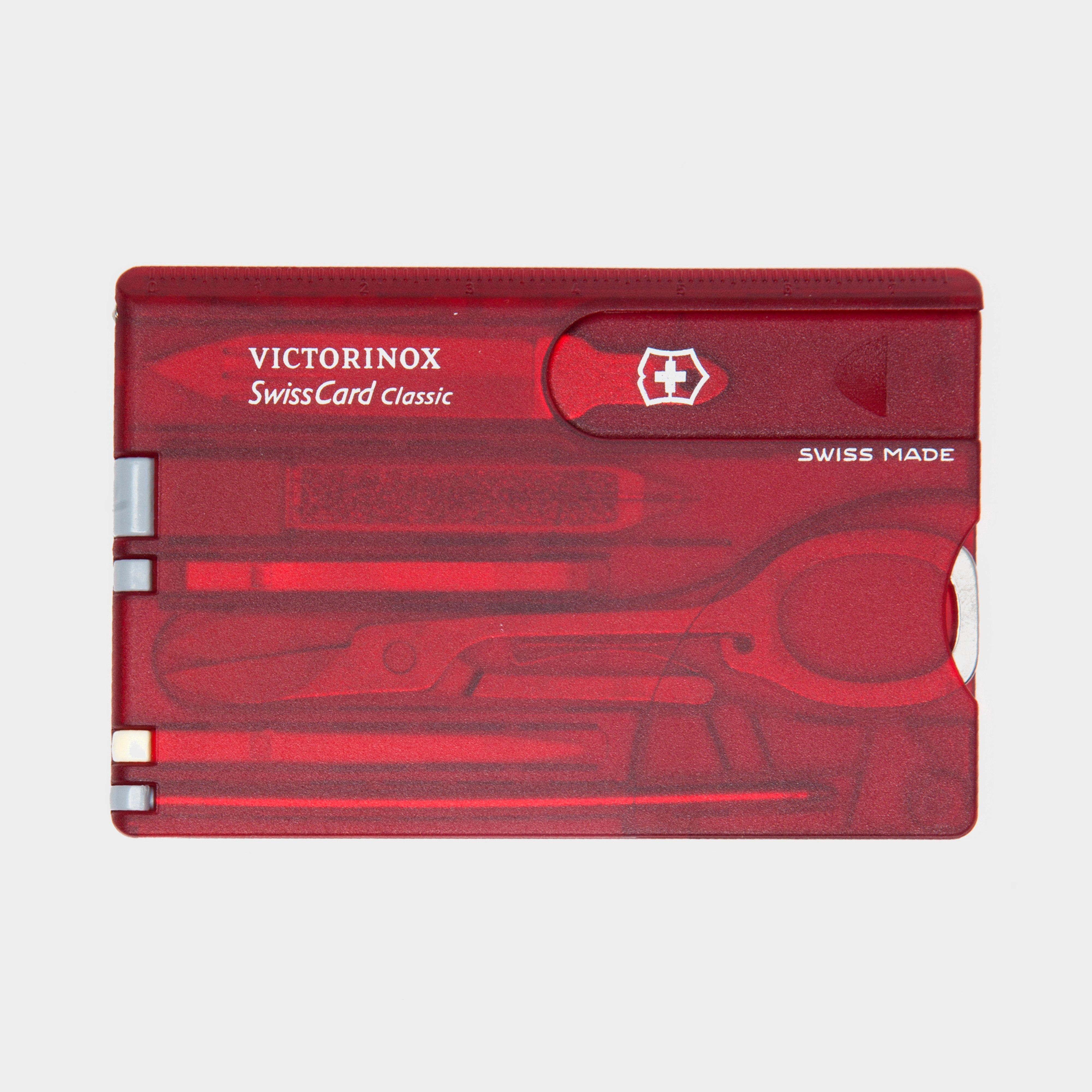 Victorinox Victorinox SwissCard Classic - Red, Red