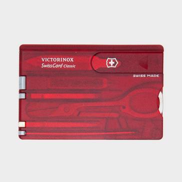 Red Victorinox SwissCard Classic