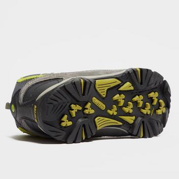 Grey|Grey Hi Tec Boys' Renegade Waterproof Walking Boots