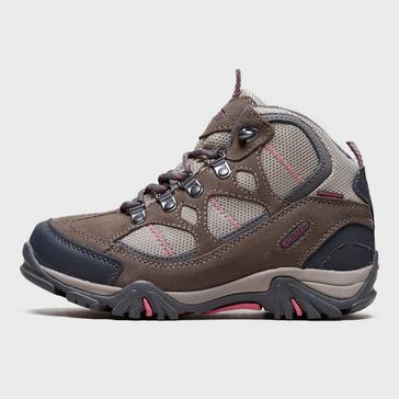 Brown Hi Tec Girls' Renegade Waterproof Walking Boots