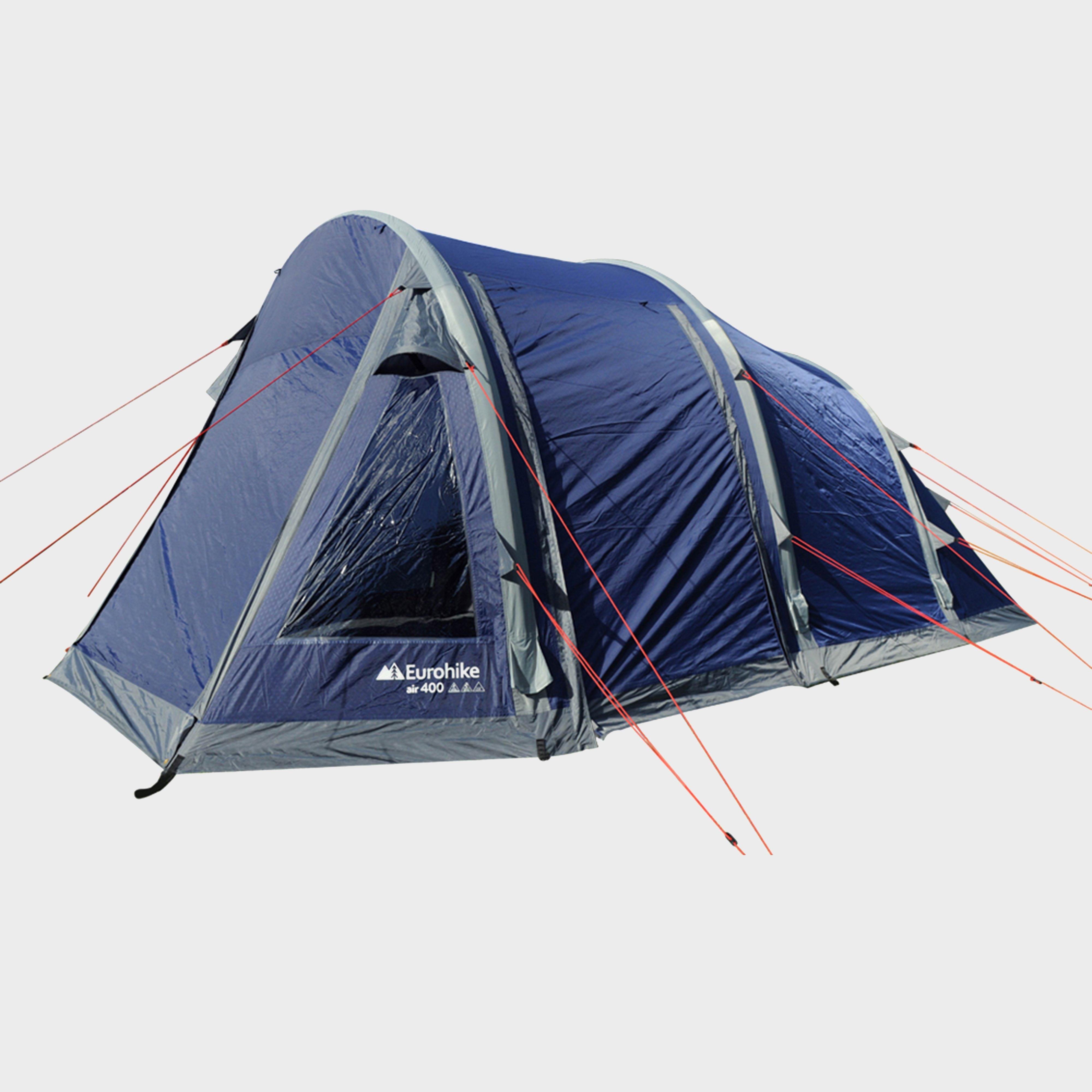 EUROHIKE Air 400 Tent & Tents | Camping Tents | 1 to 8 Man Tents | Blacks