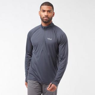 Men's Pulse Long Sleeve Zip Tee