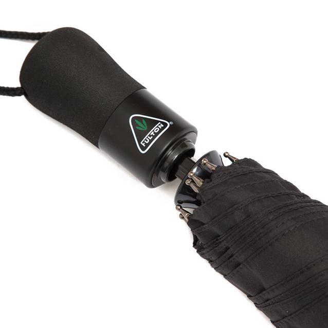 Black Fulton Open /& Close Jumbo Umbrella